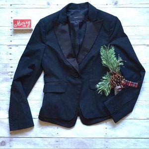 BCBGmaxazria black tuxedo blazer
